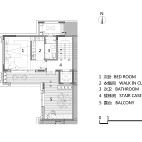 143平米3楼户型图