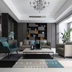 客厅地毯现代简约图片