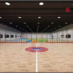 工装设计--定兴蓝梦体育馆设计及施工_1593943993_4194372