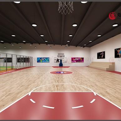 工装设计--定兴蓝梦体育馆设计及施工_1593943993