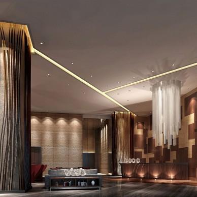 酒店空间设计丨华灯初上_1594276876
