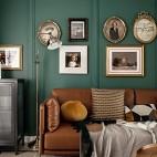欧式客厅装饰画图片