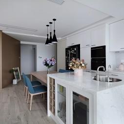 开放式厨房餐厅设计