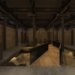 甘肃主题餐厅项目 概念图纸展示_1594703066_4203260