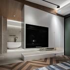 镂空电视背景墙设计