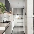 小平米房开放式厨房装修图