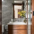 卫生间石材洗手台效果图