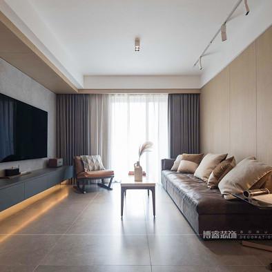 北欧暖色私宅,精致又个性|博睿设计