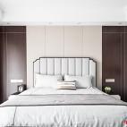 新中式卧室软包图片