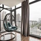 新中式阳台装修图