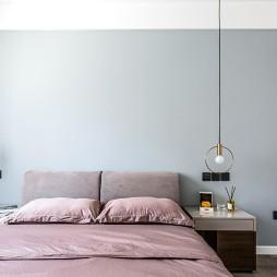 卧室吊灯位置图
