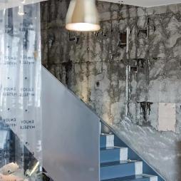 喜茶店铺楼梯设计图