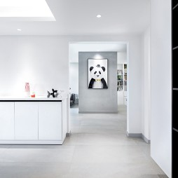 极简之家,设计师在黑白之间寻找空间诗学_1595754016_4215393