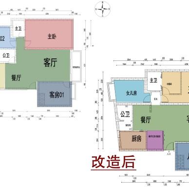 【一笔绿光】128方学区房老宅大改造_1595848104_4216391