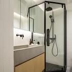 卫生间洗脸台盆柜图片