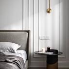 主卧室无床头柜设计图