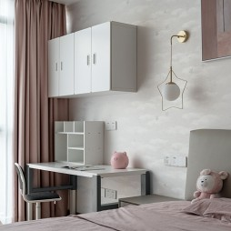粉色卧室设计