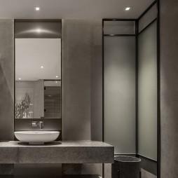 高级私人会所洗手台设计