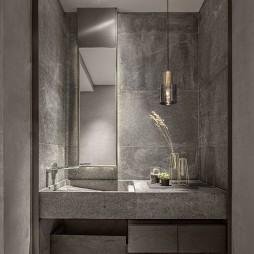 高级私人会所卫浴间设计