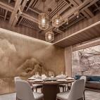 龙庭餐厅西直门店吊顶设计