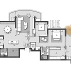 370平米别墅户型图