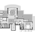 370平米别墅平面户型图