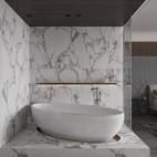 卫生间浴缸装修图
