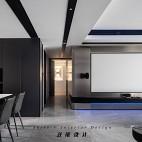 现代简欧客厅电视背景墙