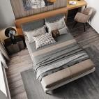 极简轻奢卧室图片
