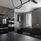 灰色系厨房效果图