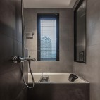 小卫生间浴缸效果图