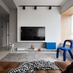 蓝白之间 精装房这样改造 简直艺术感爆棚_1596166382_4220322