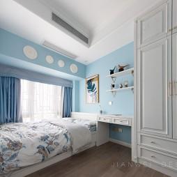 美式轻奢儿童房设计图片