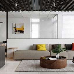 50㎡小公寓开放式装修,简洁又不失格调_1596697881_4225151