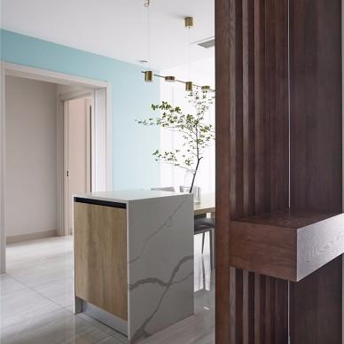 融合简约与轻奢,打造两代人同居的舒适家_1597304137