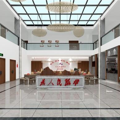 言十设计|邛崃南宝山郑家坝党群服务中心_1598434425_4243551
