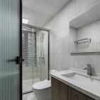 卫生间防腐木橱柜图片