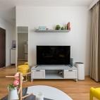 现代客厅装饰置物架图片