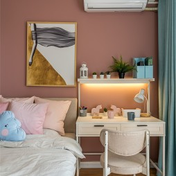 现代风卧室小梳妆台图片