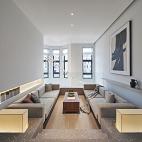 新中极简别墅客厅设计