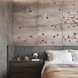 新中极简别墅主卧室设计图