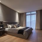 新中极简别墅卧室图片