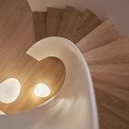 新中极简别墅楼梯设计