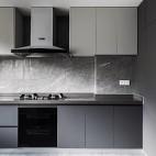 U型小厨房装修效果图