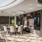 美式轻奢客餐厅吊灯图片
