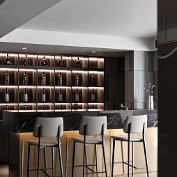 小吧台酒柜设计
