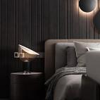 主卧室床头壁灯装修效果图