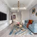 现代简约轻奢客厅沙发图片