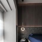 卧室圆形床头柜
