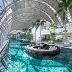 重庆来福士洲际酒店休闲区设计